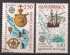 Frankreich  (1992)  Mi.Nr.  2899 + 2900  Gest. / Used  (8ae49)  EUROPA - Frankreich