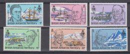 British Antarctic Territory 1980 Royal Geographical Society 6v ** Mnh (41663) - Ongebruikt