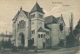 Baden Baden Synagoge Synagogue  Edit Gustav Salzer - Judaika