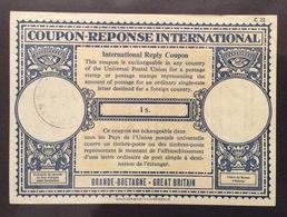 COUPON REPONSE  INTERNATIONAL GRAN BRETAGNA  1 S. - Posta