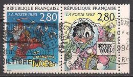 Frankreich  (1993)  Mi.Nr.  2992 + 2993 A  Gest. / Used  (8ae63) - Frankreich