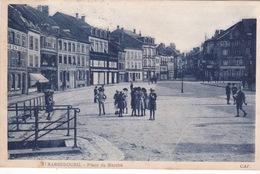 57-SARREBOURG- PLACE DU MARCHÉ-ANIMÉE - Sarrebourg