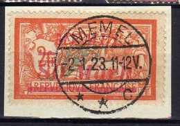 Memel 1922 Mi 117, Gestempelt [120119XXII] - Klaipeda