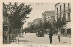 ***  ANDALUCIA   ***   ALMERIA  Paseo Del Principe Timbrée TTB - Almería