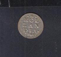 Holandia  Silver Stuiver 1760 0.79 Gramm - [ 1] …-1795 : Oude Periode