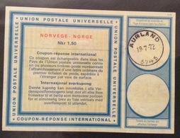 COUPON REPONSE  INTERNATIONAL  NORVEGIA  NORGE   Nkr 1,50 - Posta