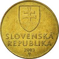 Monnaie, Slovaquie, 10 Koruna, 2003, TTB, Aluminum-Bronze, KM:11 - Slovaquie