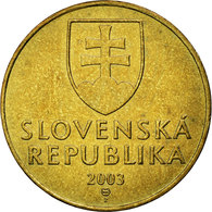 Monnaie, Slovaquie, 10 Koruna, 2003, TTB, Aluminum-Bronze, KM:11 - Slovakia