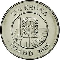 Monnaie, Iceland, Krona, 2005, SUP, Nickel Plated Steel, KM:27A - Island
