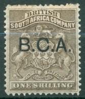 British South Africa Company - 1890/1891 - Yt 3 - Série Courante Surchargé B.C.A. - Oblitéré - Georgia