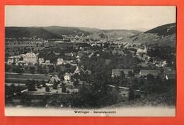 TRJ-02 Wettingen Generalansicht. Gelaufen 1911 Photo Guratia - AG Argovia