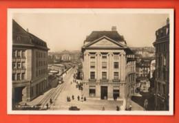 TRJ-15 Lausanne Avec Le Grand Pont, Tramway. Union Banques Suisses Non Circulé. Guggenheim 17512 C - VD Vaud