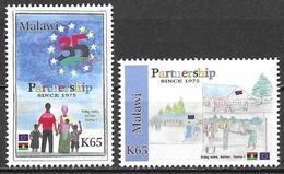 Malawi 2011 35th Anniversary Of EU Aid Projects Michel 838-39 MNH Mint Postfrisch Neuf ** - Malawi (1964-...)