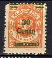 Memel / Klaipeda 1923 Mi 224 * [120119XXII] - Klaipeda