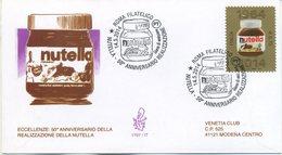 ITALIA - FDC  VENETIA  2014 - NUTELLA - VIAGGIATA - ANNULLO SPECIALE - 6. 1946-.. Repubblica