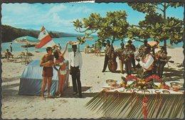 Beach Party On Northcoast, Jamaica, 1969 - Novelty Trading Co Postcard - Jamaica