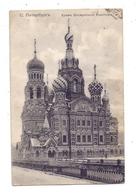 """RU 190000 SANKT PETERSBURG, Orthodoxe Kirche """"Des Erlösers Auf Verschüttetes Blut"""", 1907 - Russland"""