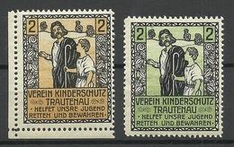 Czech Area German Verein Kinderschutz Trautenau Child Protection Charity Vignetten MNH - Vignetten (Erinnophilie)