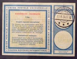 COUPON REPONSE  INTERNATIONAL  DANIMARCA DANEMARK DANMARK 1 Kr - Posta