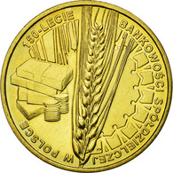 Monnaie, Pologne, Cooperative Banking In Poland, 150th Anniversary, 2 Zlote - Pologne
