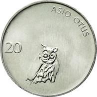 Monnaie, Slovénie, 20 Stotinov, 1993, TTB, Aluminium, KM:8 - Slovenia