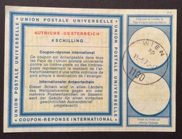COUPON REPONSE  INTERNATIONAL AUSTRIA OESERREICH  4.S. - Posta