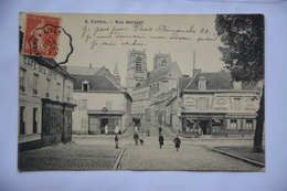 CORBIE-rue Hersent-animee-cafe Des Arts - Corbie