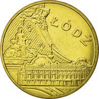 Monnaie, Pologne, Lodz, 2 Zlote, 2011, Warsaw, SUP, Laiton, KM:804 - Pologne