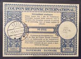 COUPON REPONSE  INTERNATIONAL DANIMARCA DANMARK  90 O. - Posta