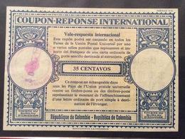 COUPON REPONSE  INTERNATIONAL REPUBBLICA DE  COLOMBIA 35 C. - Posta