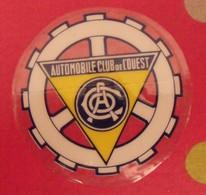 Autocollant Automobile Club De L'ouest. Vers 1960-70 - Stickers
