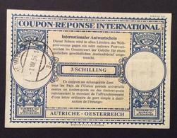 COUPON REPONSE  INTERNATIONAL AUSTRIA AOSTERREICH  3 S. - Posta
