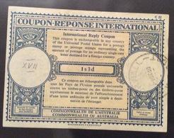 COUPON REPONSE  INTERNATIONAL AUSTRALIA  1 S.3d. - Posta