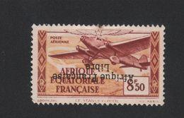 Faux Afrique équatorale Poste Aérienne N° 19d 8f. 50 Surcharge Renversée Gomme Charnière - A.E.F. (1936-1958)