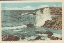 Lake Superior - North Shore 2 Cards  Canada.  S-4603 - Ontario