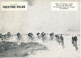 CYCLISME - Tour De France 1932, Etape Gap-Grenoble, Le Galibier  - Publicité  Prestine Velox - Radsport