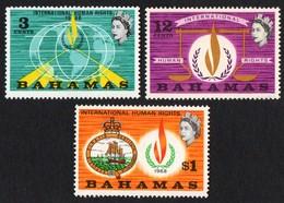 Bahamas.  1968 Human Rights Year. SG 312-314. MNH - Bahamas (...-1973)