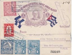 Honduras - Primer Correo International Aéreo - Honduras