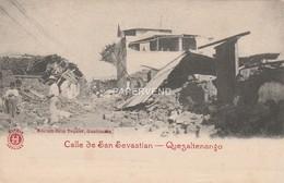 Guatemala QUEZALTENANGO Terremoto Calle De San Sevastian  Gu153 - Guatemala