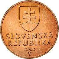 Monnaie, Slovaquie, 50 Halierov, 2002, TTB, Copper Plated Steel, KM:35 - Slovakia