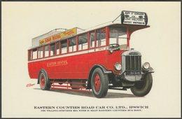 Eastern Counties Road Car Co Ltd Tilling-Stevens B9A - Prescott-Pickup Postcard - Buses & Coaches