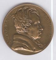 Médaille André Marie Ampère - Né à Lyon..., Membre De L'Institut... - France
