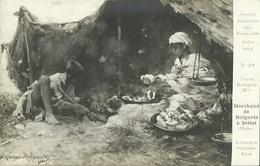 CPA - Sociéte Lyonnaise Des Beaux Arts 1914 - Tableau De Mme LUCAS ROBIQUET - Marchand De Beignets à Settat (Maroc). - Peintures & Tableaux