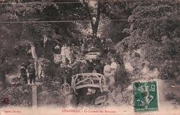 CPA 54 LUNEVILLE La Cascade Des Bosquets , Animée - Luneville
