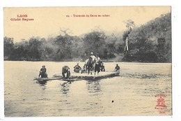 LAOS -  Traversée Du Fleuve En Radeau   -   L 1 - Laos