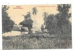 LAOS -  La Pagode De Sisakhet à Vientiane   ##  RARE  ##    -   L 1 - Laos