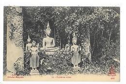 LAOS -  Pagode En Ruines    ##  RARE  ##    -   L 1 - Laos