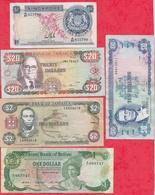 Iles Du Monde 9 Billets Dans L 'état Lot N °2 - Billets