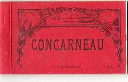 Carnet De 12 Cpa De CONCARNEAU ( Complet ) - Concarneau