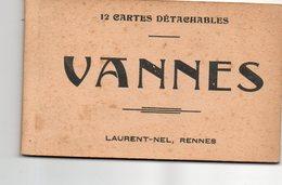 Carnet De 12 Cpa De VANNES ( Complet ) - Vannes